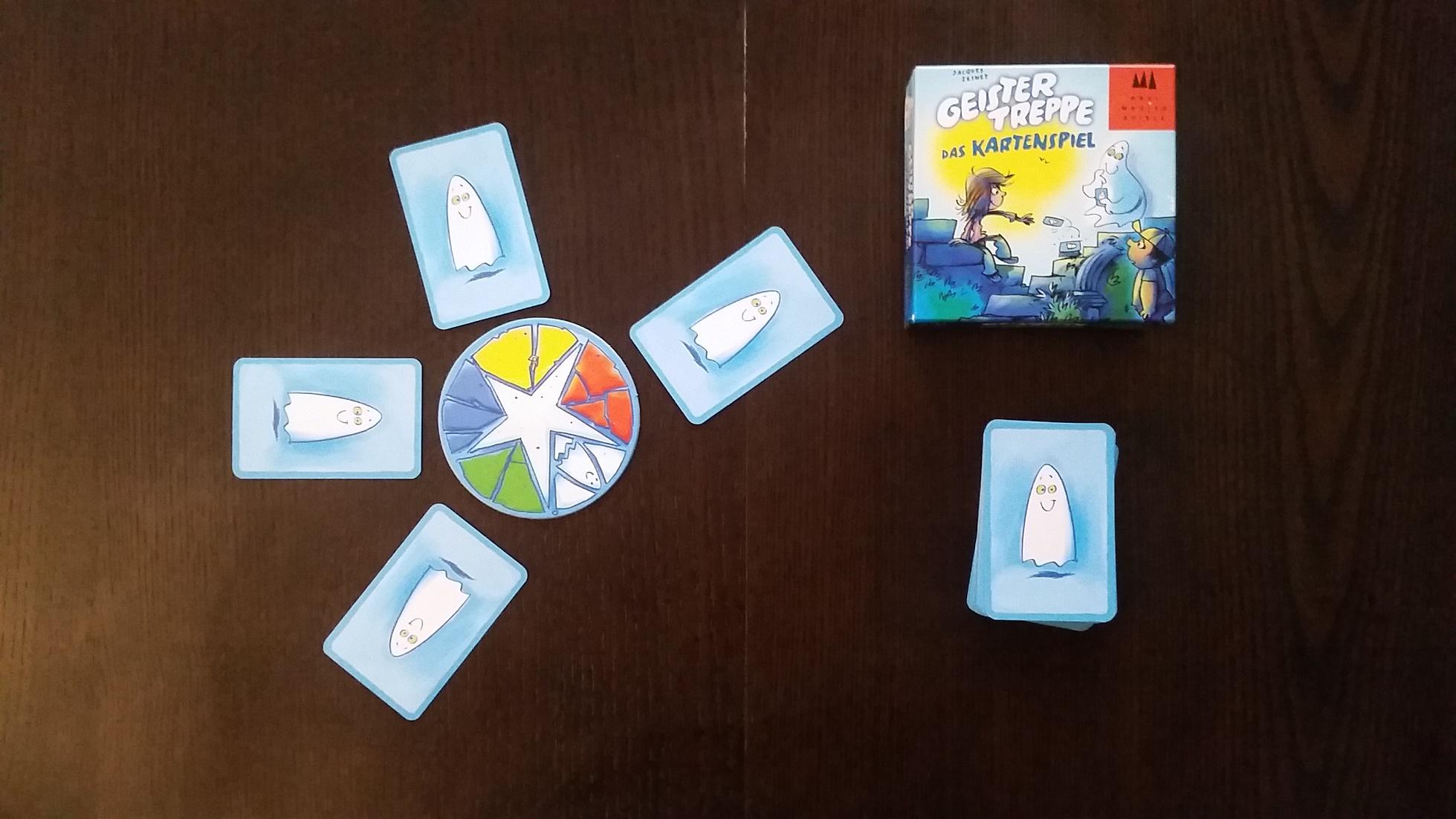Geistertreppe das Kartenspiel (1)