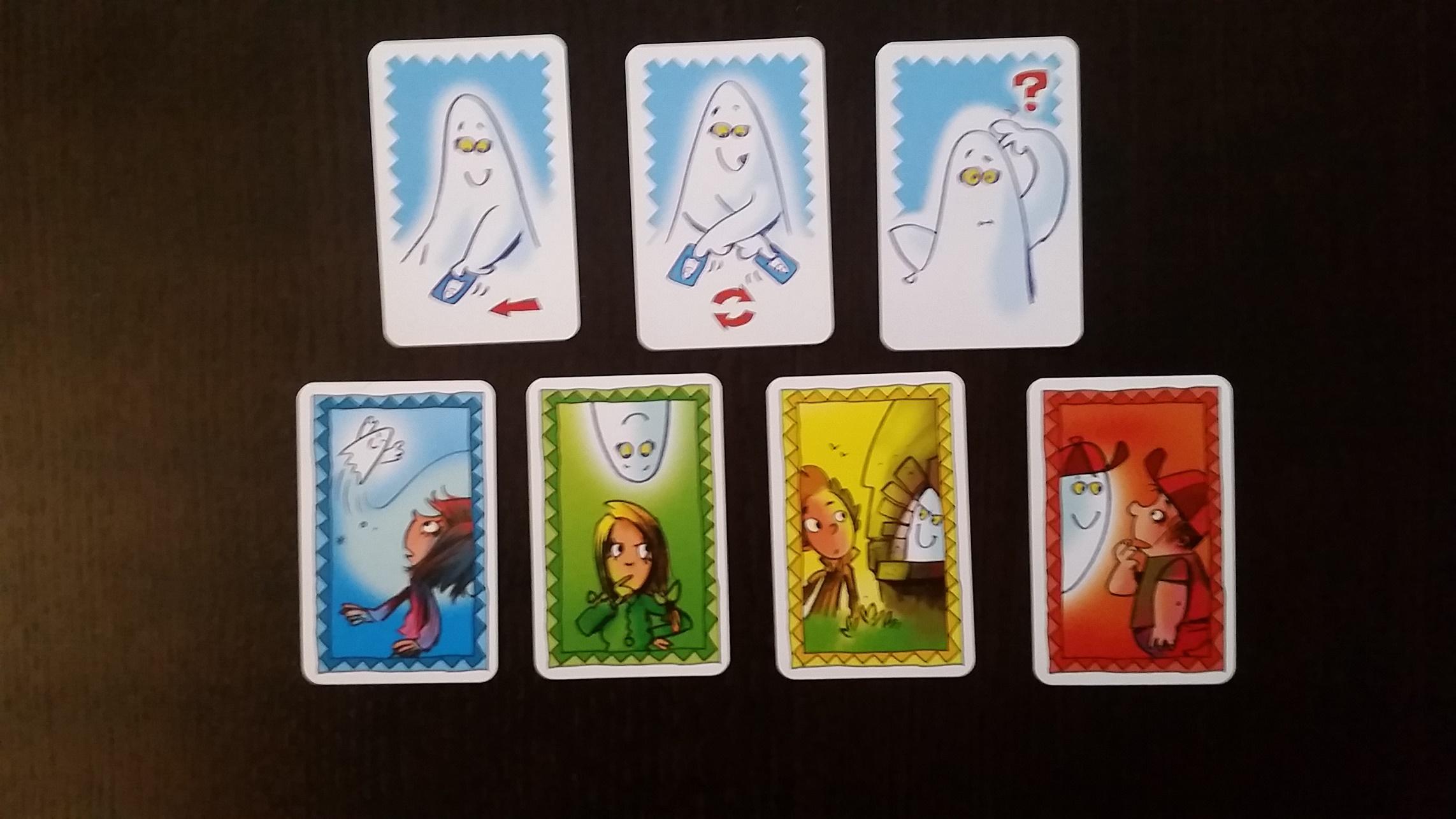 Geistertreppe das Kartenspiel (3)
