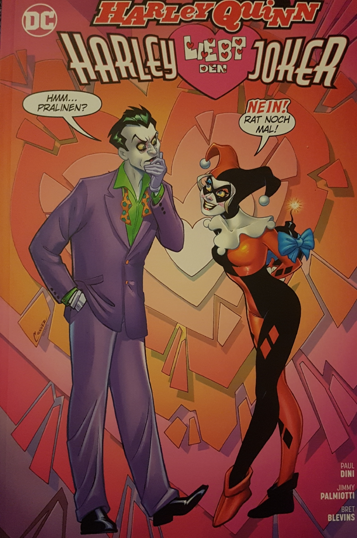Harley liebt den Joker