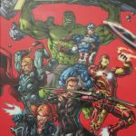 Mein erstes Comic -Avengers