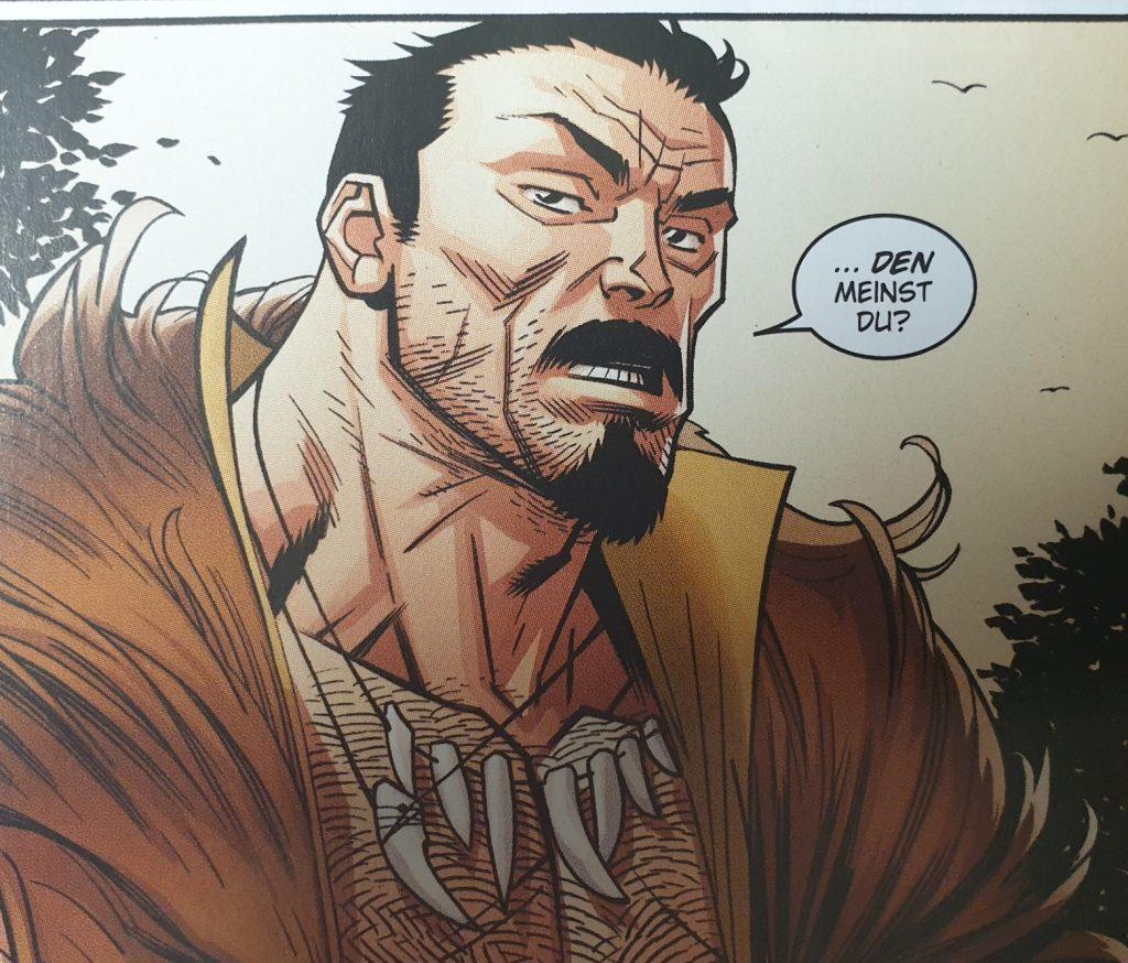 Kraven, Hauptgegner in diesem Spider-Man Heft