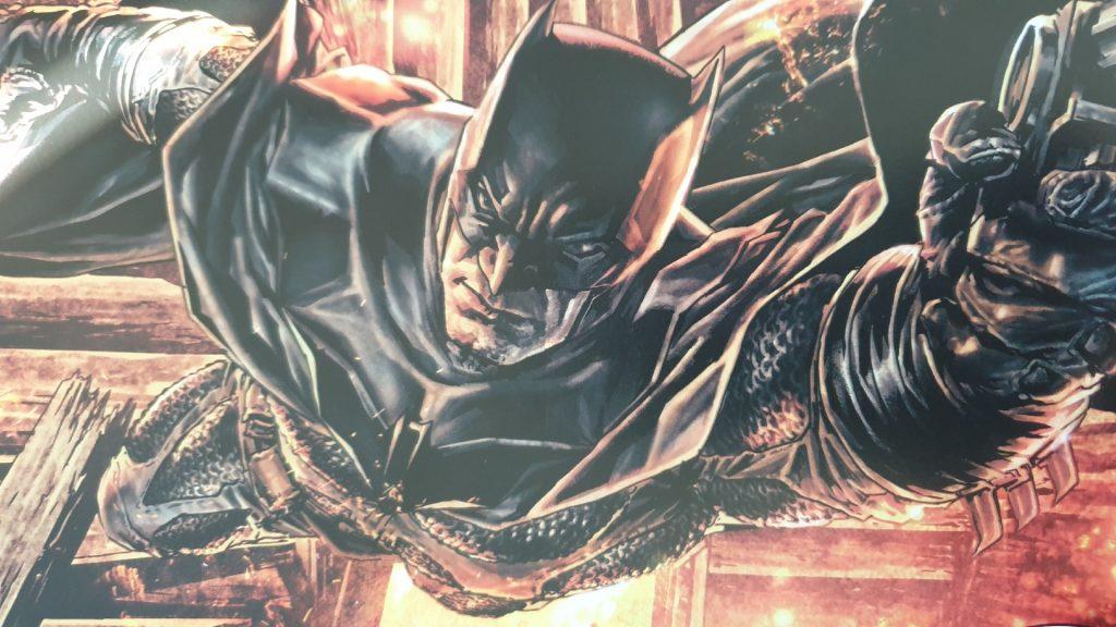 Batman in voller Pracht, ein Meisterwerk (Bild aus Batman Damned)