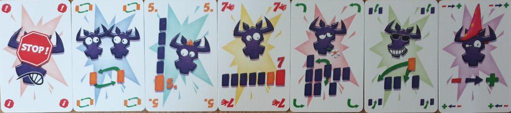 Die Sonderkarten der neuen 6 nimmt Edition