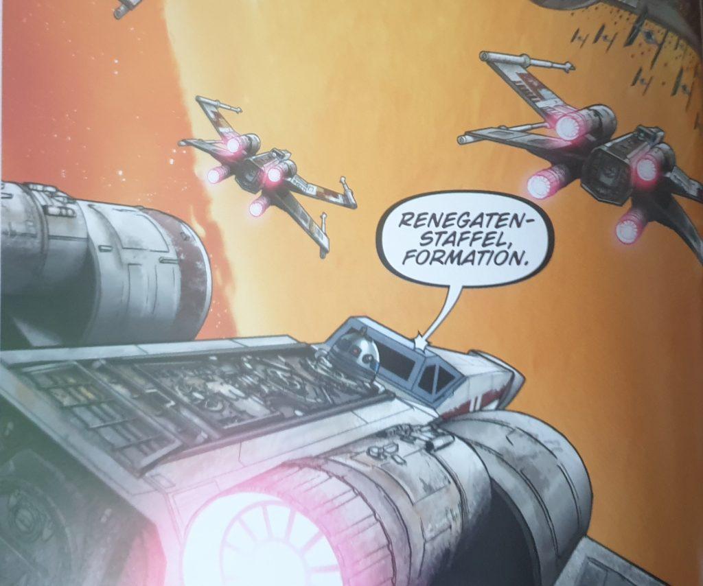Ein Bild aus dem Comic Zerstörte Hoffnung.