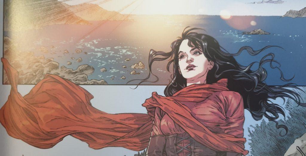 Ein Bild aus dem Aquaman - Held von Atlantis Comic.