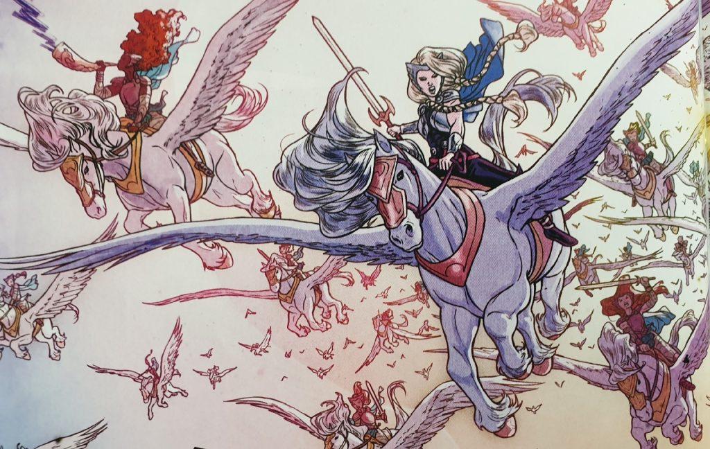 Ein Bildausschnitt aus dem 2. Heft von War of the Realms.