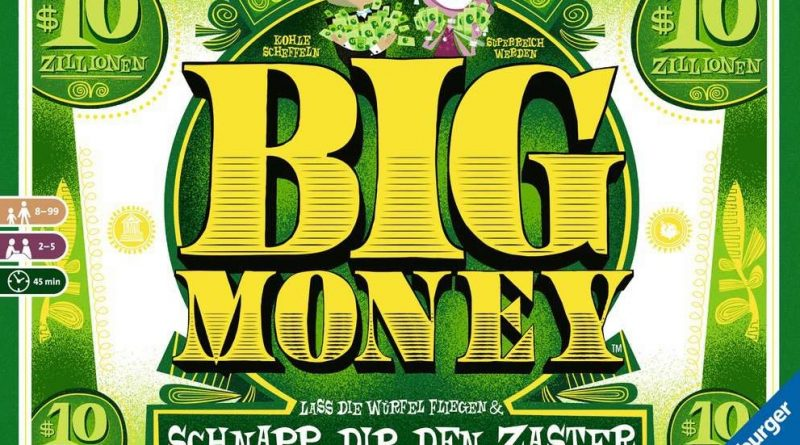Das COverbild von Big Money