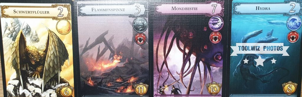 Die Monsterkarten