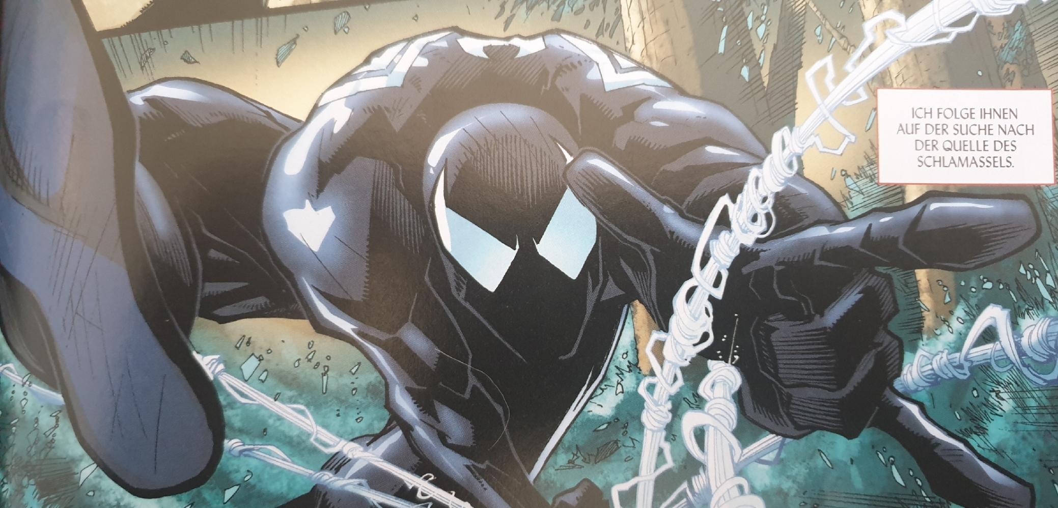 Spider-Man im schwarzen Anzug