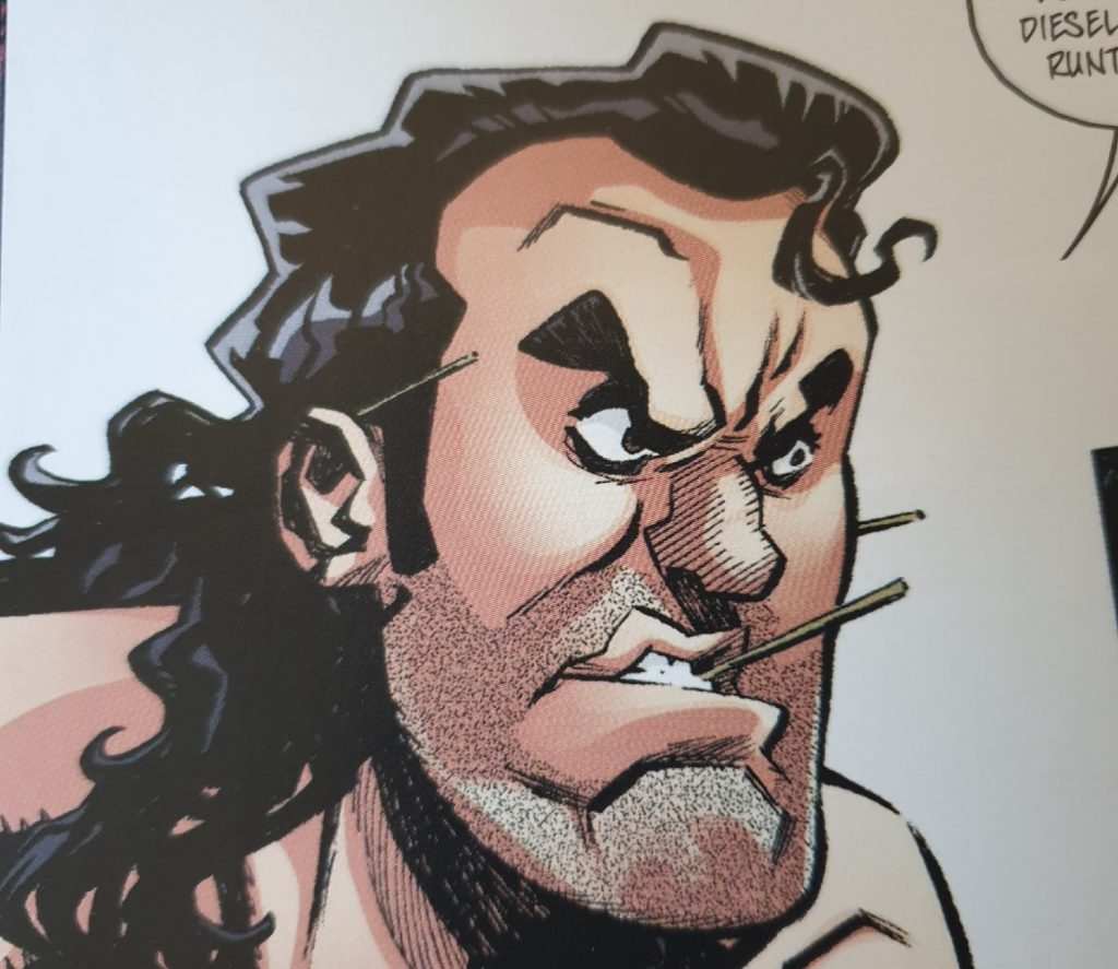 Razor Ramon/ AUsschnitt aus dem Comic
