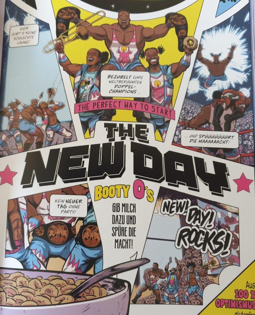 New Day / Ausschnitt aus dem Comic