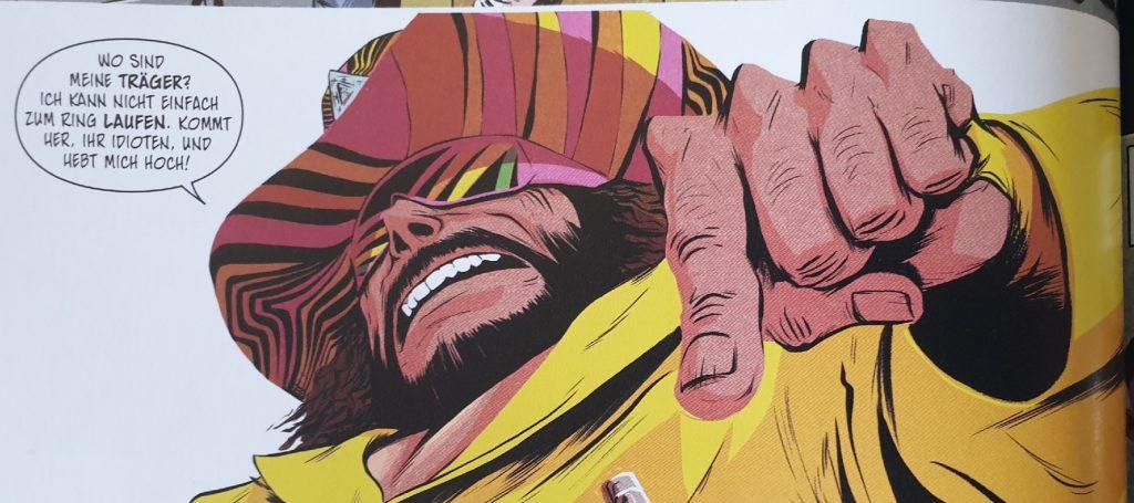 Der Macho King/ Ausschnitt aus dem Comic