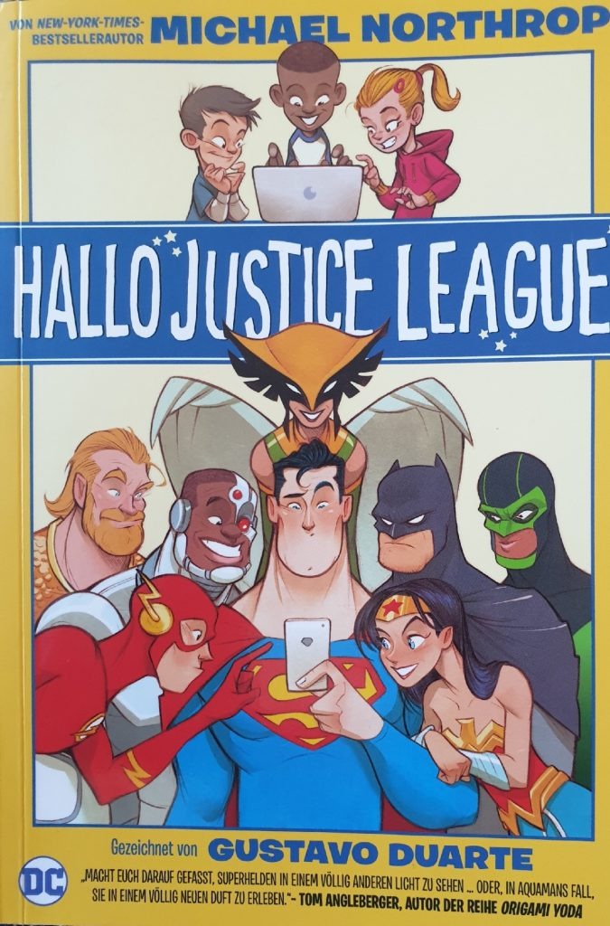 Hallo Justice League Cover