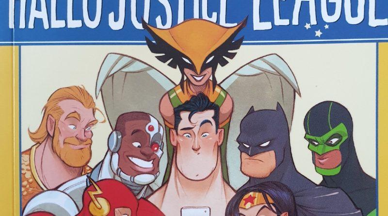 Hallo Justice League Cover
