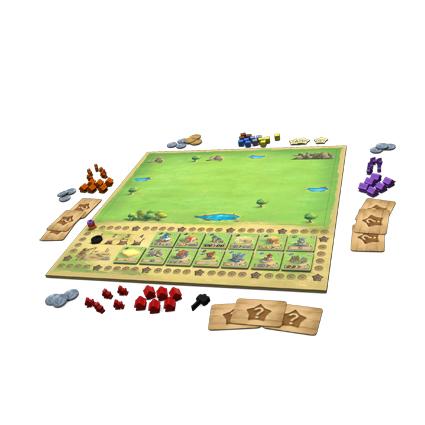 Das Spielbrett von Little Town/ Bild von Huttertrade.com