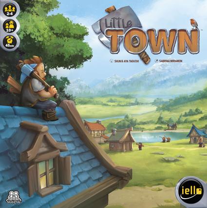 Das Cover von Little Town/ von Hutter-trade.com