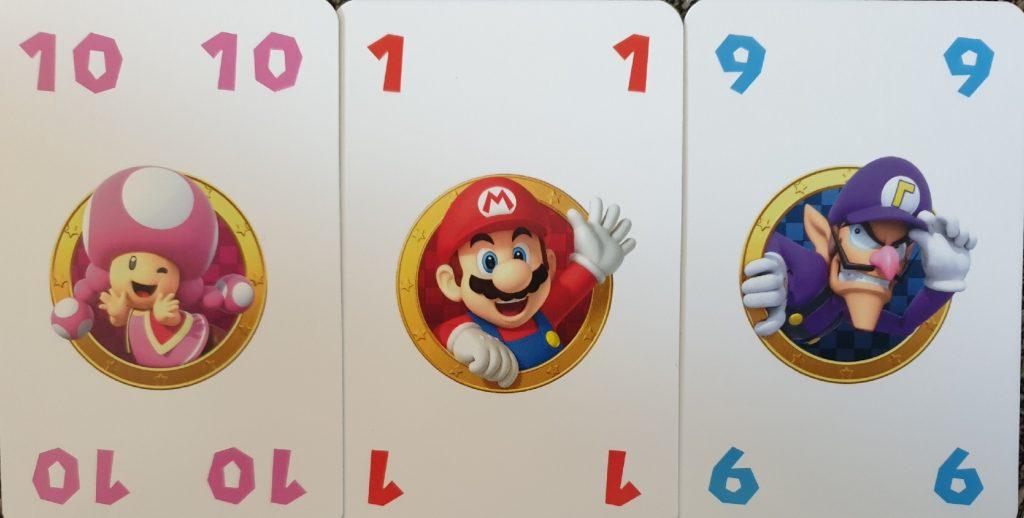 Die Karten von Level 8 - Super Mario