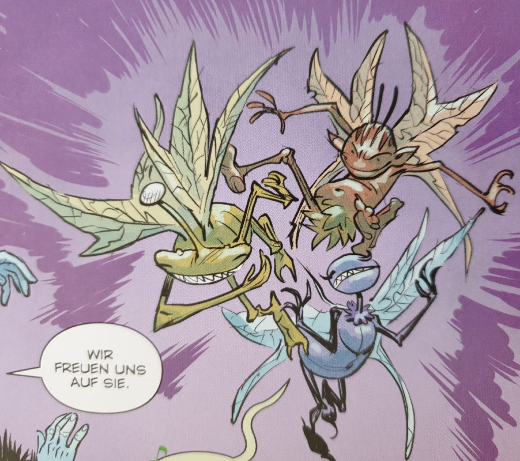 Ein Bildausschnitt aus Die Bücher der Magie 2