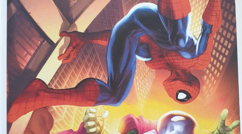 Das Titelbild zu Spider-Man gegen Mysterio