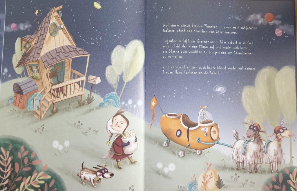 Eine Beispielseite aus dem Buch