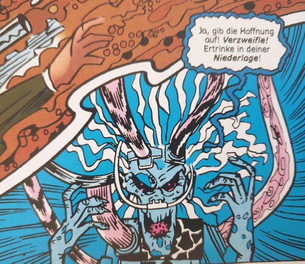 Ein Bild aus dem Comic WOnder WOman