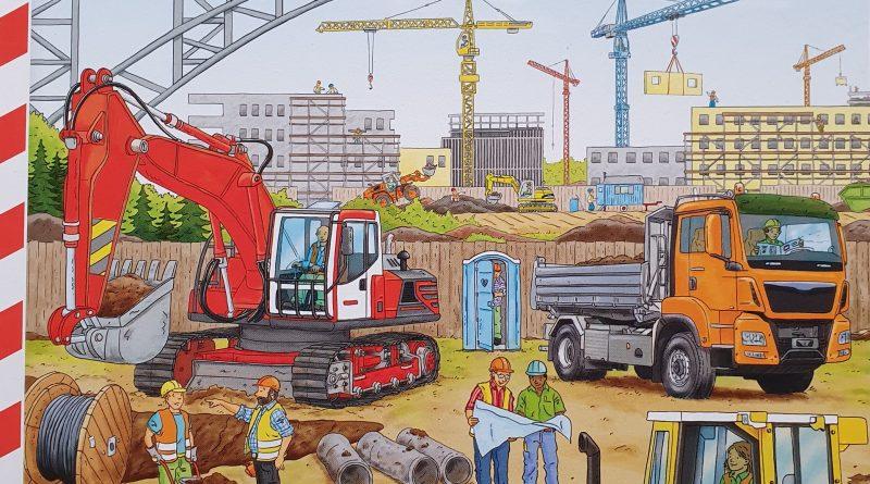 Das Cover von Mein erstes großes Baustellen Buch