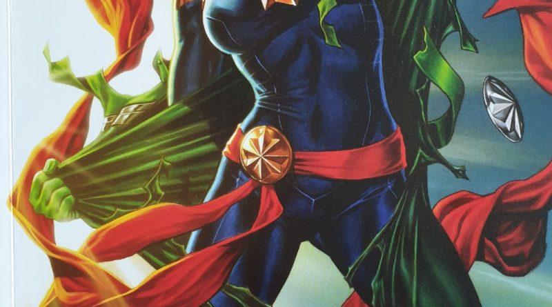 Das Cover von Captain Marvel – Sternfinsternis