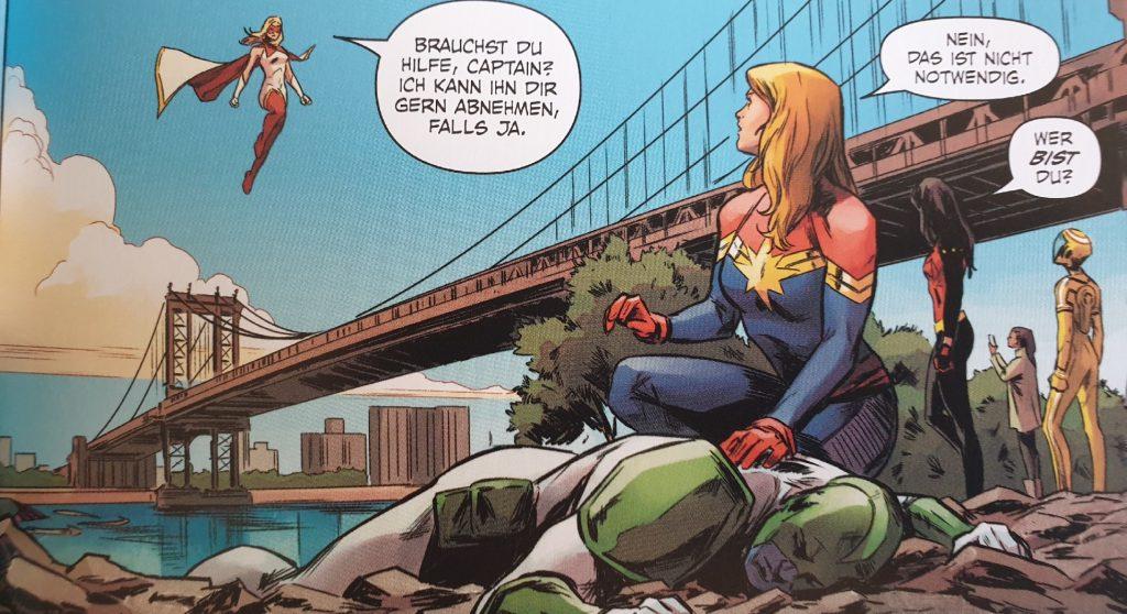 Ein Ausschnitt aus Captain Marvel – Sternfinsternis