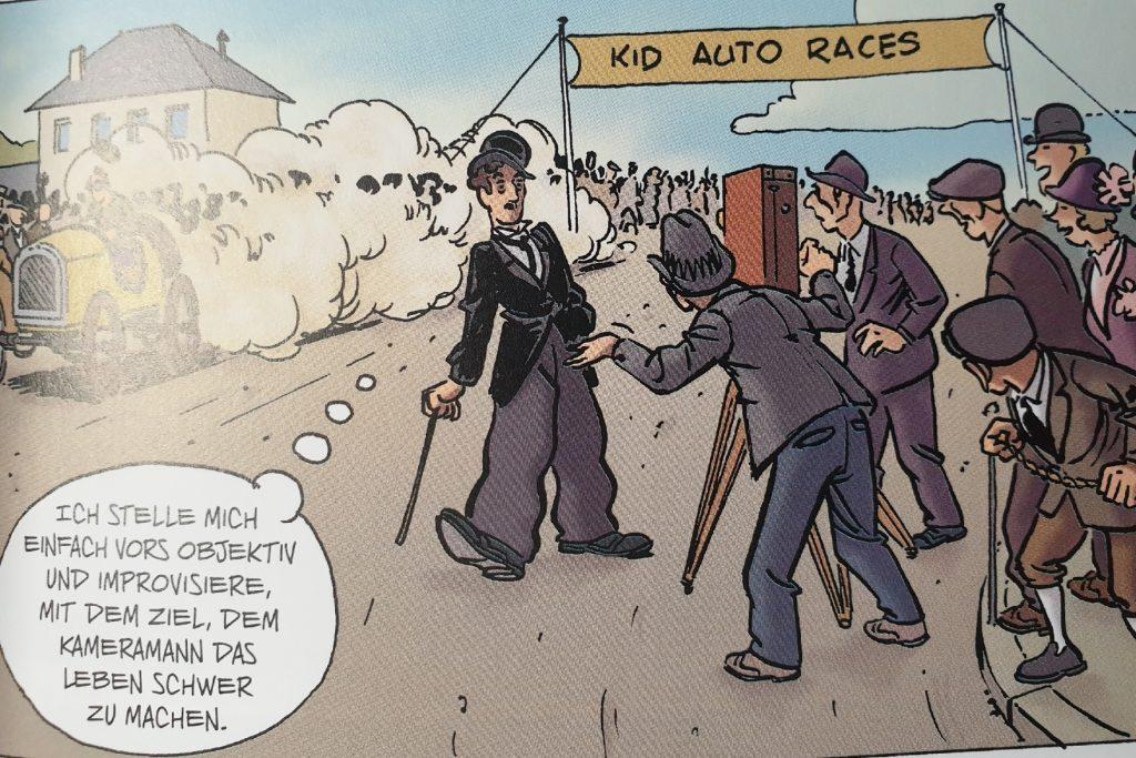 Ein Ausschnitt aus dem Comic