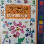 Fingerstempelspaß - Kunterbunt